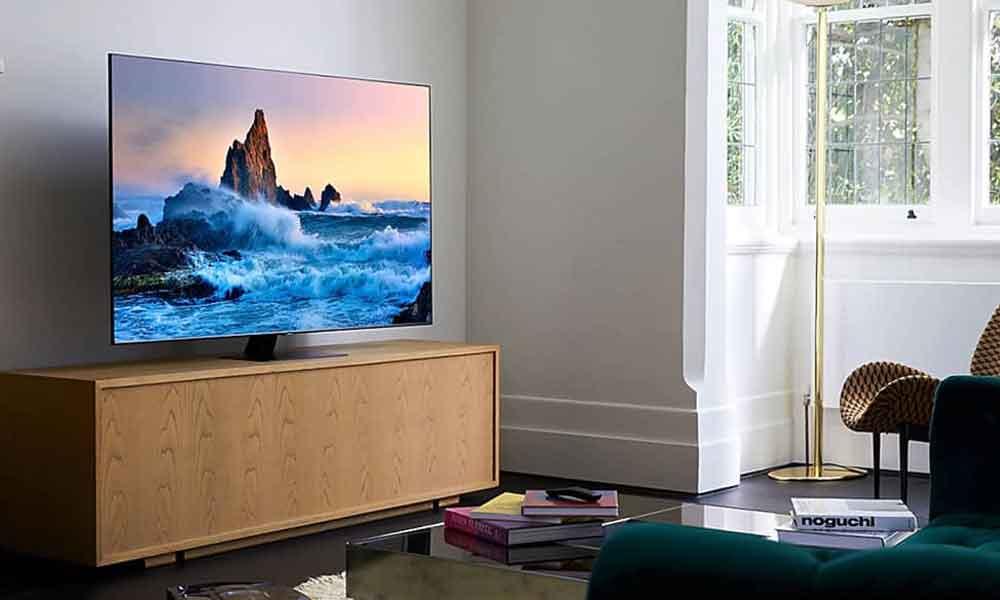 تلویزیونهایQ80Tسامسونگ در خانه