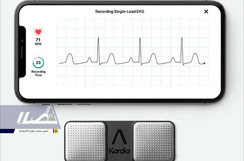 دستگاه Alivecor KardiaMobile EKG Monitor