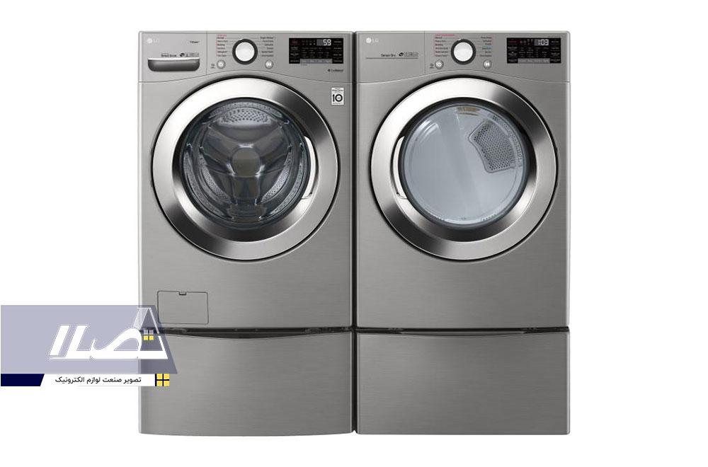ماشینلباسشویی دو طبقه مدلWM3700HVA