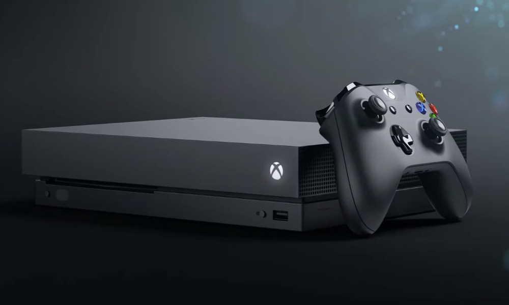 تصویر کنسول بازی Xbox One X-2