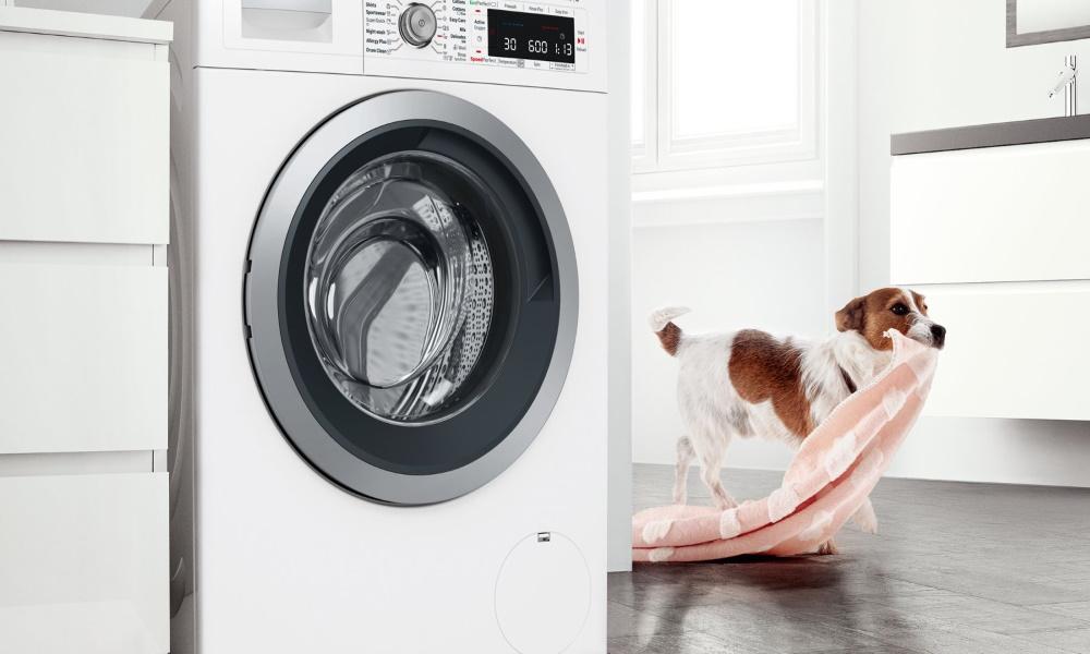 تصویر ماشین های لباسشویی بوش بی صدا