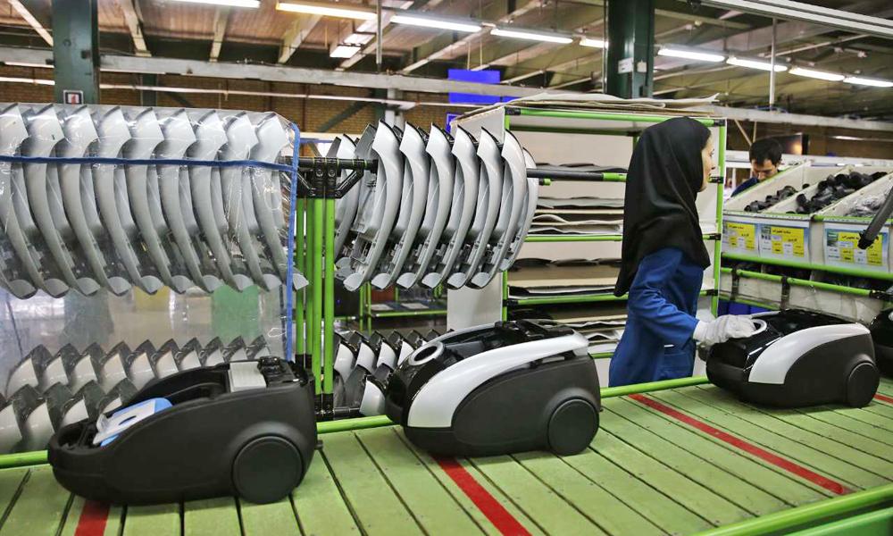خط تولید جاروبرقی