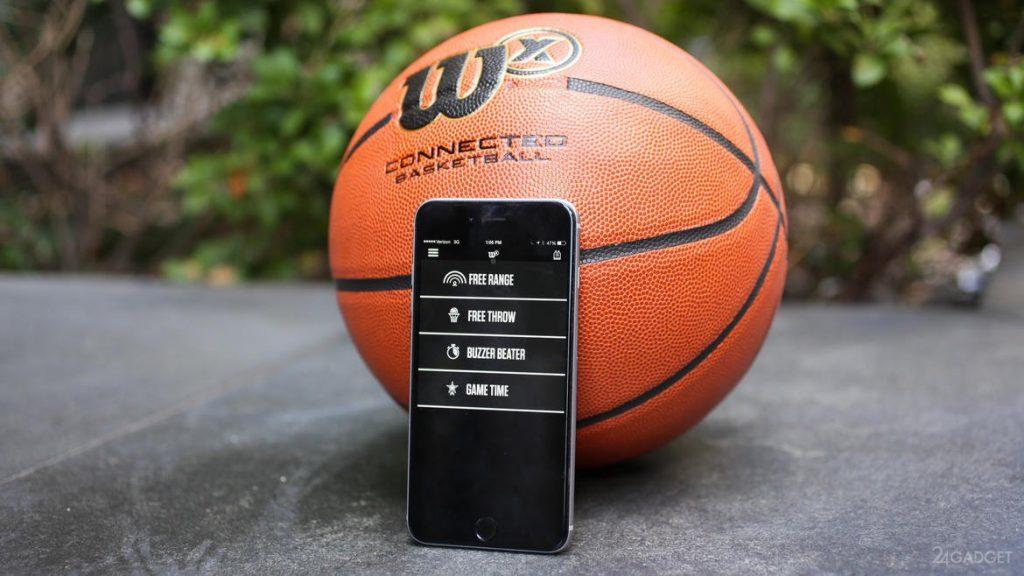 توپ هوشمند بسکتبال Wilson x Connected