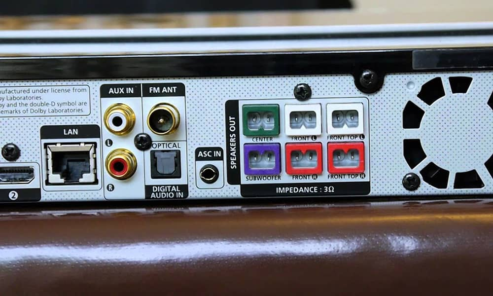 گیرنده AV سینمای خانگی