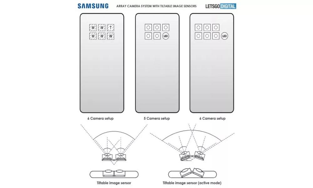 تصویر سنسورهای استفاده شده در گوشی های گلکسی برند سامسونگS21
