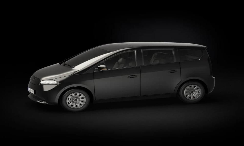 تصویر خودرو برقی برند سونو در نمایشگاه CES سال 2021