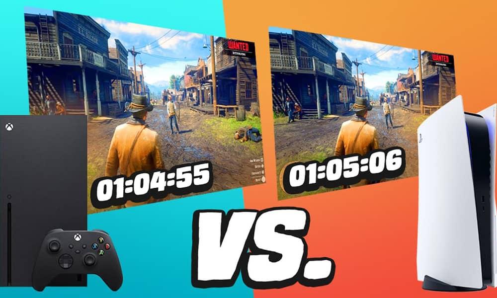 مقایسه عملکرد PS5 و ایکس باکس سری ایکس در اجرای بازی ها