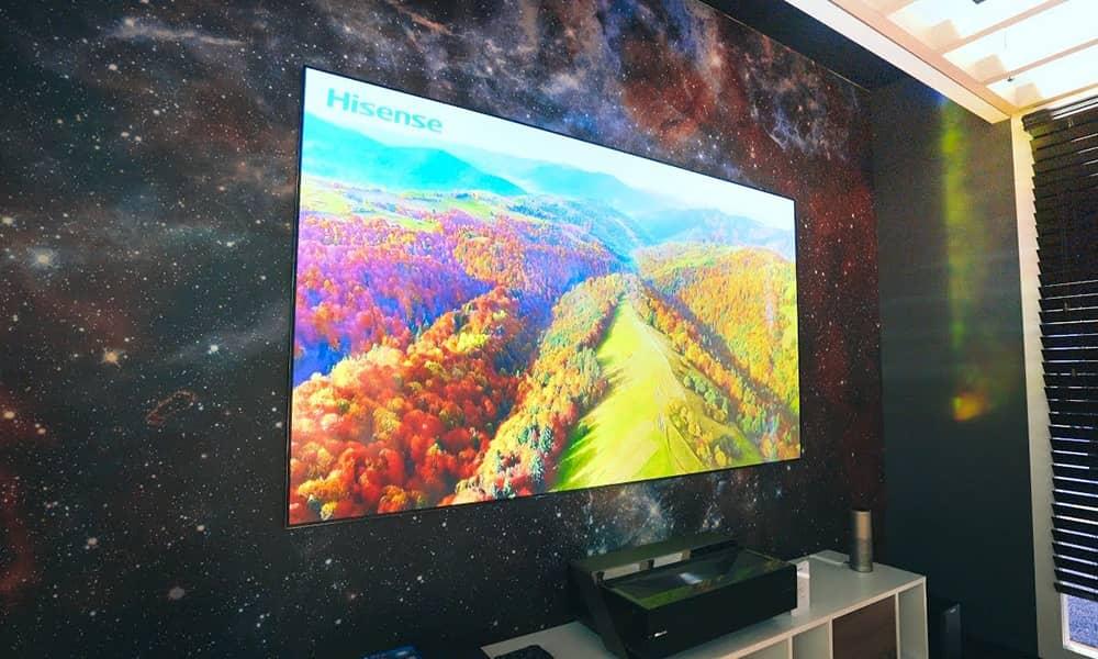 تلویزیونهای لیزری هایسنس