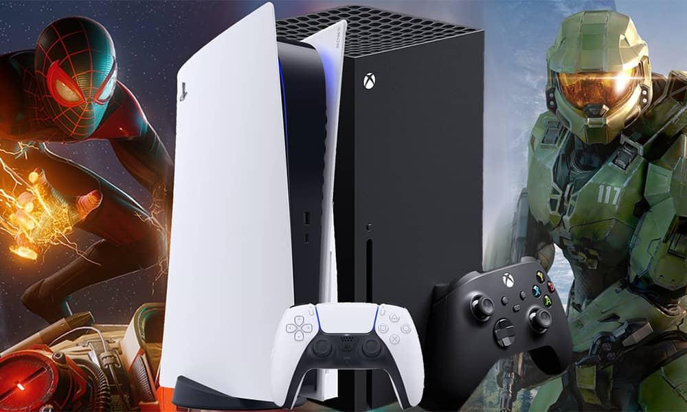 مقایسه بازی های PS5 و ایکس باکس سری ایکس