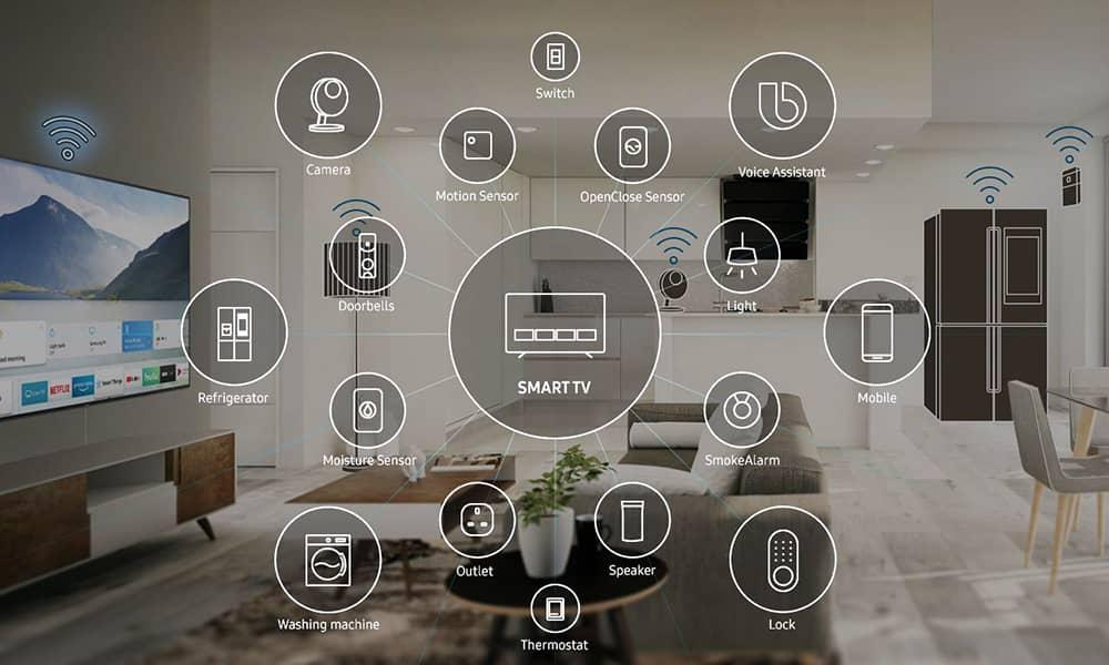 فناوری Samsung Smart Things
