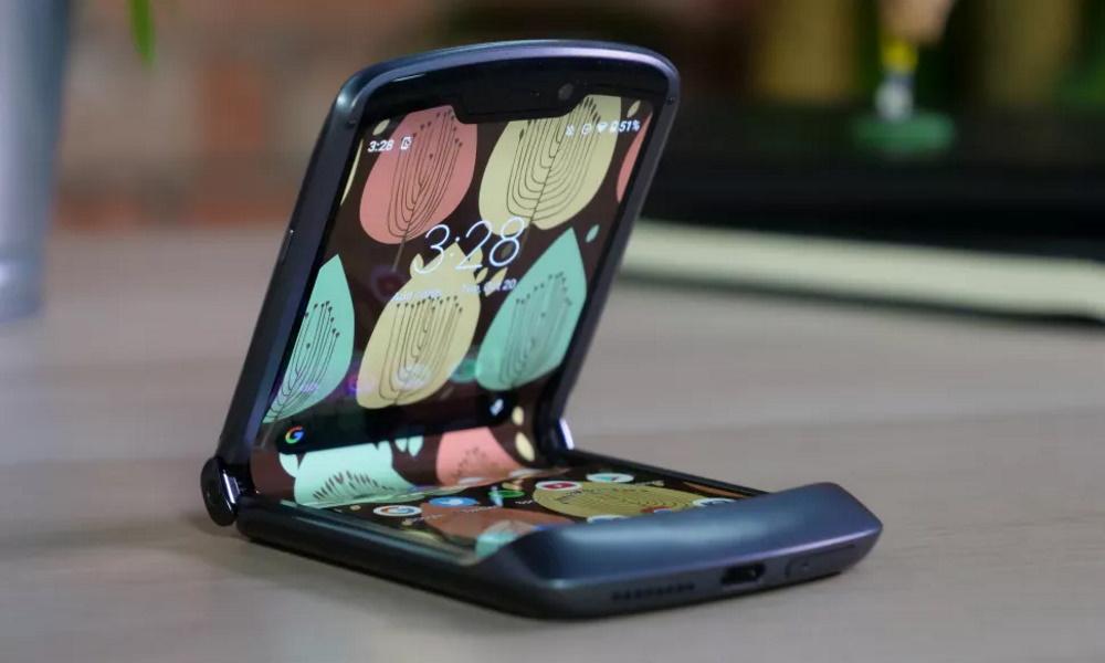 تصویر گوشیهای تاشو Motorola Razr 2020