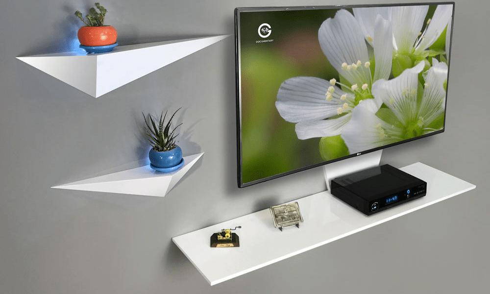 قیمت میز تلویزیون دیواری راهپورد مدل نیلوفر A113