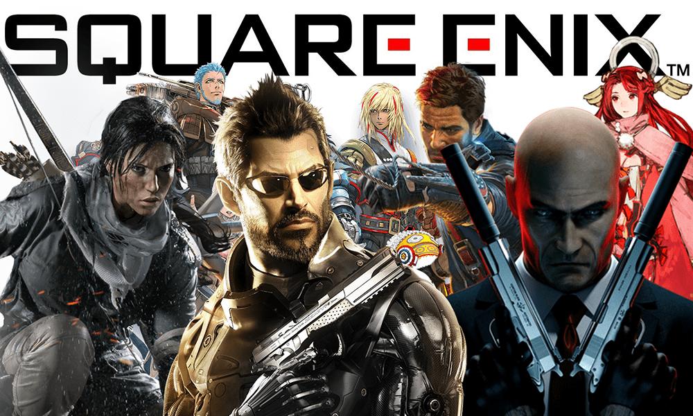 بازیهای شرکت بازیسازی اسکوئر انیکس Squaqe Enix