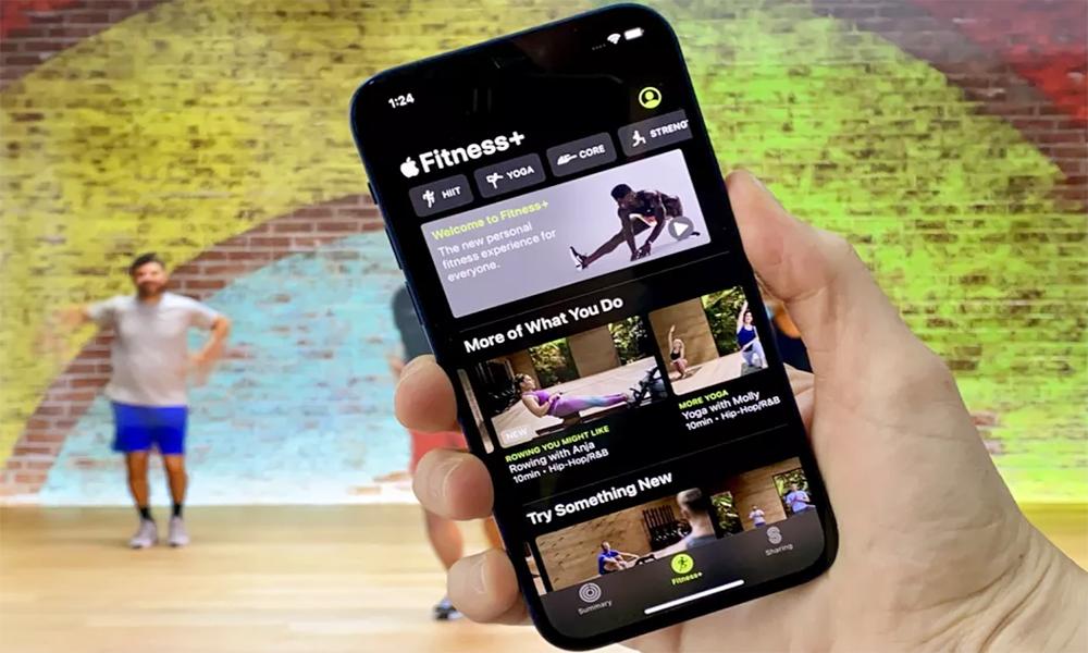 سرویس Apple Fitness Plus+سیستمعامل Watch OS