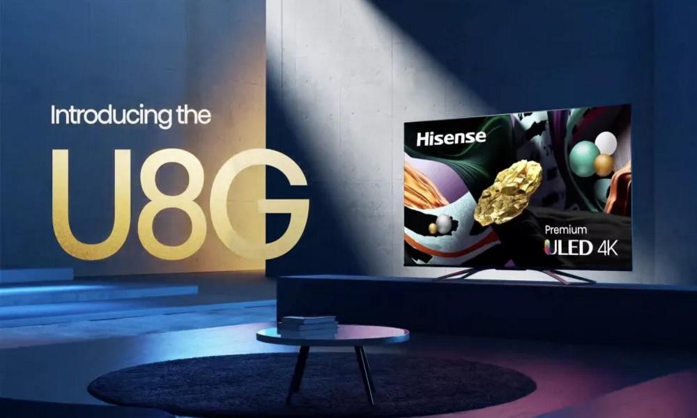 تلویزیونهای U8G برند هایسنس