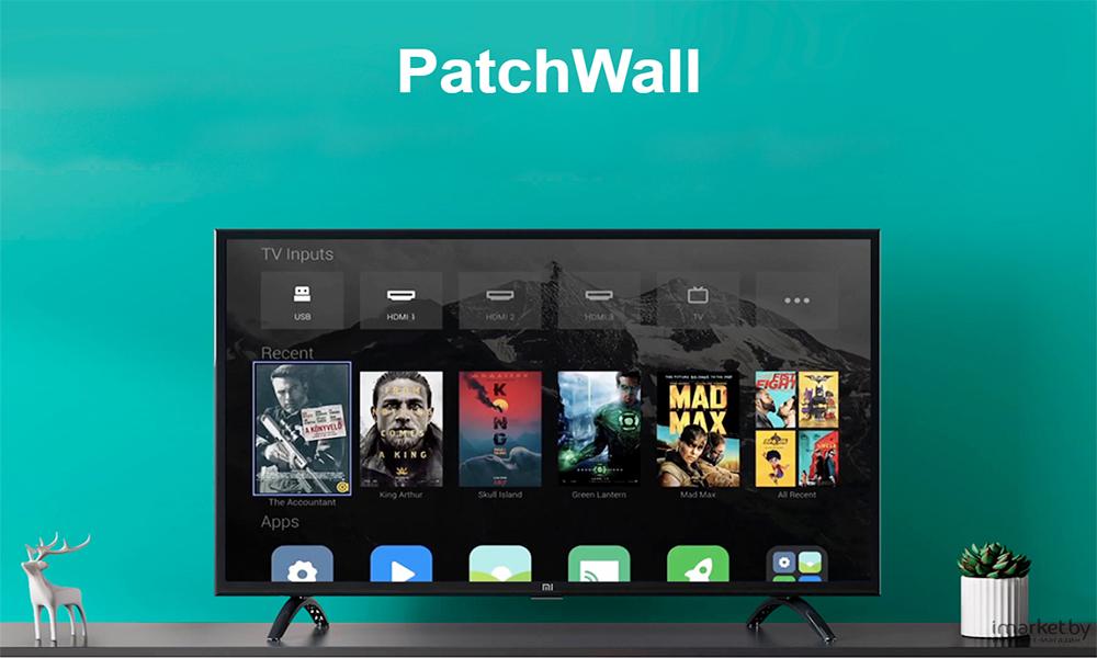 رابط کاربری Patchwall+تلویزیون شیائومی