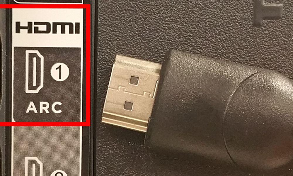 پورت HDMI ARC+ تلویزیون 32 اینچ