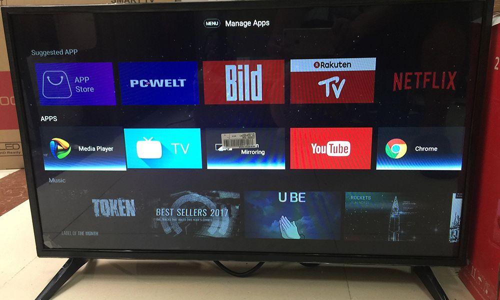 رابط هوشمند تلویزیون+ تلویزیون 32 اینچ