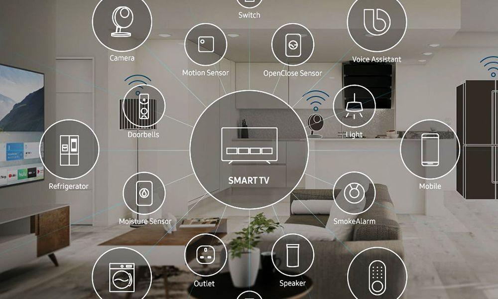 فناوری Samsung Smart Things سامسونگ