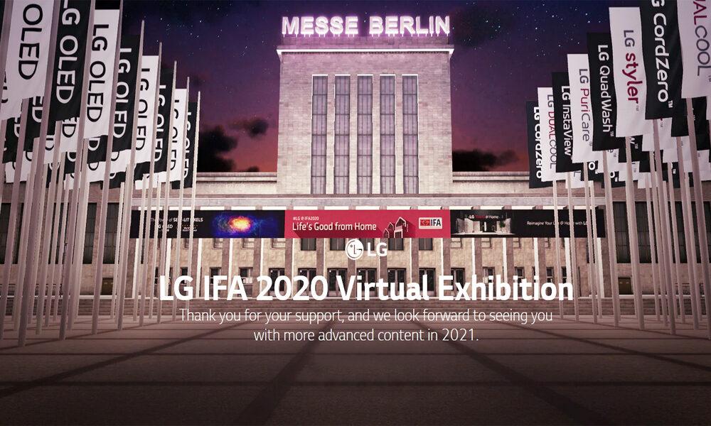 رونمایی الجی از پلتفرم نمایشگاه آنلاین و تور مجازی سهبعدی