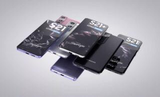 گوشی های سری گلکسی اس ۲۱  چه شکلی است؟