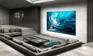 رونمایی از تلویزیون ۱۱۰ اینچ سامسونگ در CES  2021