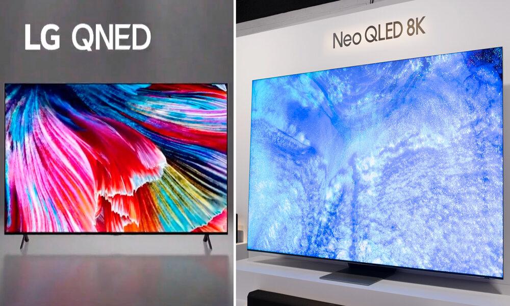 رقابت تلویزیونهای QNED ال جی و Neo QlED سامسونگ