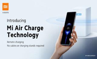 شارژ بیسیم با تکنولوژی شارژ هوایی شیائومی