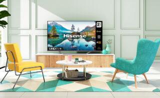 عرضه نسل جدید تلویزیونهای Dual Cell هایسنس با قابلیت ۴K