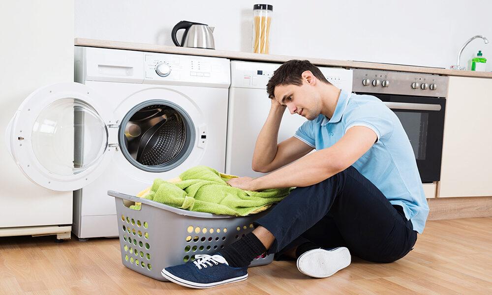 رایجترین دلایل خرابی ماشین لباسشویی چیست؟