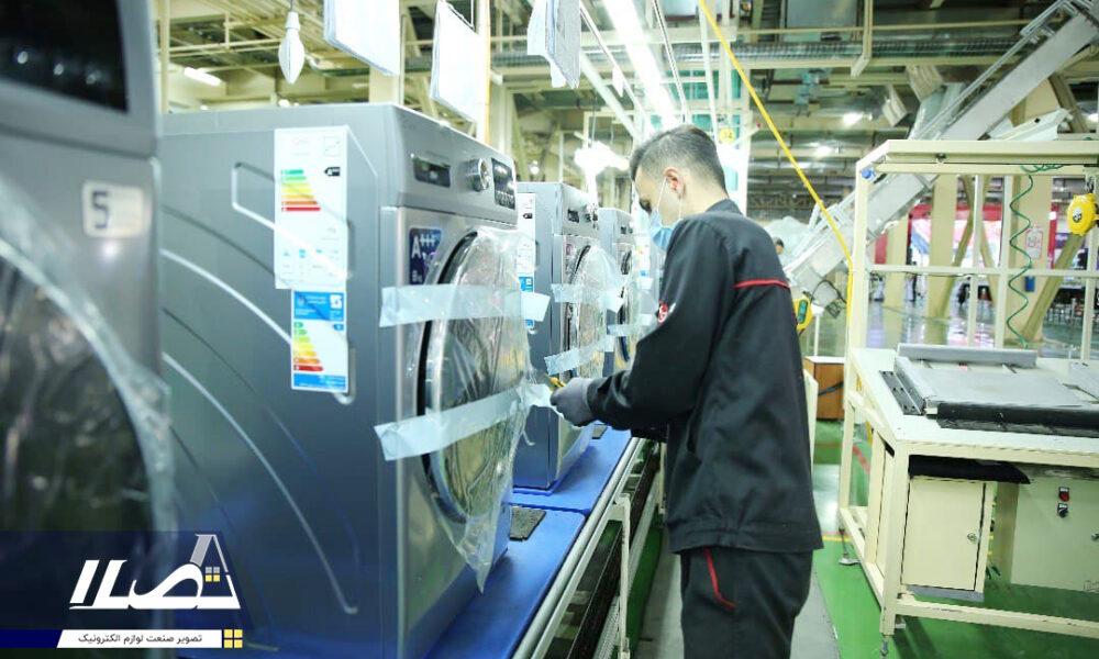 گزارش تصویری از مراسم رونمایی از میز ساخت داخل ماشین لباسشویی وخط تولید داکت اسپیلت جی پلاس