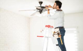روش تعمیر پنکه سقفی در منزل بدون نیاز به تعمیرکار