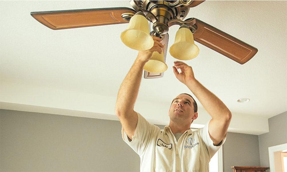 علت تکان خوردن پنکه سقفی چیست؟