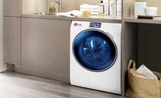 طرز استفاده از ماشین لباسشویی کرال