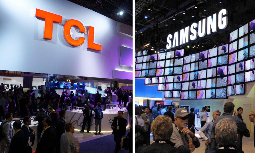 تأمین صفحه نمایش OLED سامسونگ توسط TCL