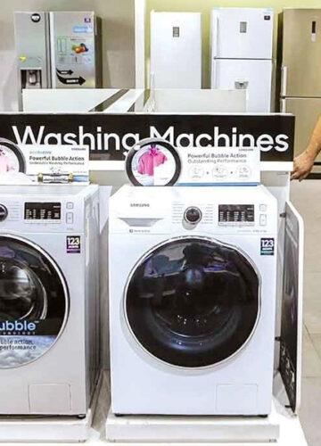 گارانتی تقلبی بازار لوازم خانگی/برچسبهایی که ماشین لباسشویی ۳ میلیونی را ۷ میلیونی میکند
