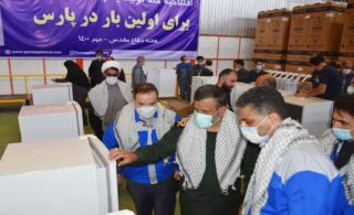 بهرهبرداری از خط تولید یخچال جدید پارس در هفته دفاع مقدس
