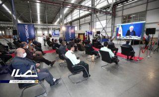 گزارش تصویری از افتتاح کارخانه مادیران توسط روحانی