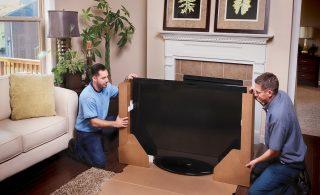 نحوه جابجایی تلویزیون در اسباب کشی