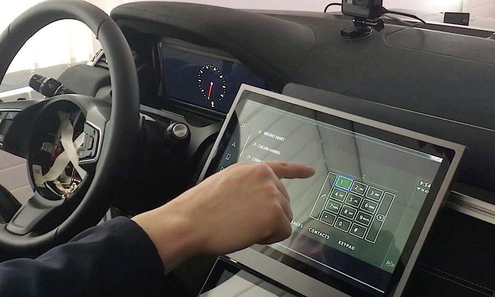 رونمایی از صفحه نمایش لمسی بدون نیاز به لمس کردن