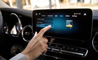 کنترل خانه هوشمند از داخل خودروهای مرسدس بنز